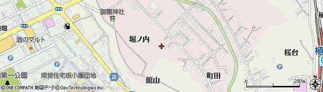 福島県いわき市後田町(堀ノ内)周辺の地図