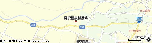 長野県野沢温泉村(下高井郡)周辺の地図