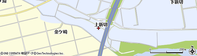 福島県いわき市山田町(上新切)周辺の地図