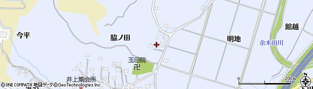 福島県いわき市山田町(脇ノ田)周辺の地図