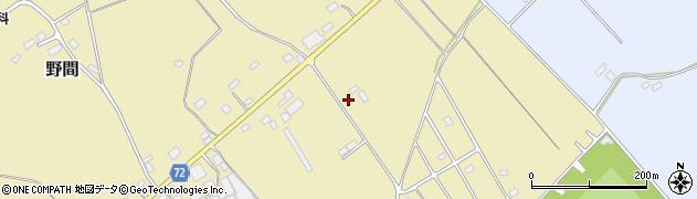 栃木県那須塩原市野間27周辺の地図