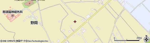 栃木県那須塩原市野間517周辺の地図
