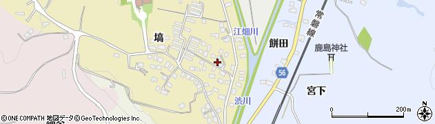 福島県いわき市江畑町(塙)周辺の地図