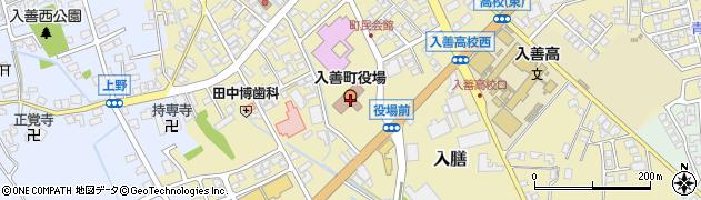 富山県下新川郡入善町周辺の地図