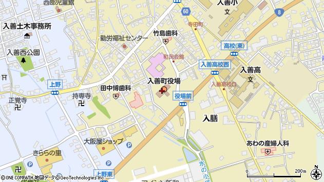 〒939-0600 富山県下新川郡入善町(以下に掲載がない場合)の地図