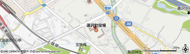新潟県湯沢町(南魚沼郡)周辺の地図