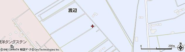 栃木県那須塩原市渡辺周辺の地図
