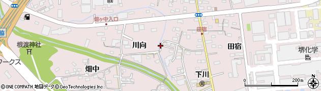 福島県いわき市泉町下川周辺の地図
