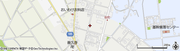 富山県朝日町(下新川郡)桜町周辺の地図