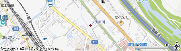 新潟県湯沢町(南魚沼郡)湯沢周辺の地図