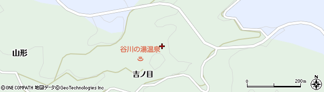 福島県東白川郡塙町山形吉ノ目周辺の地図