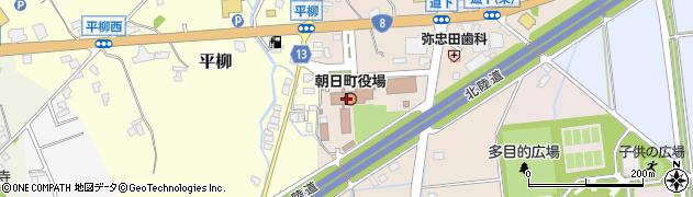 富山県下新川郡朝日町周辺の地図