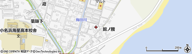 福島県いわき市小名浜下神白(館ノ腰)周辺の地図