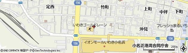 福島県いわき市小名浜(船引場)周辺の地図
