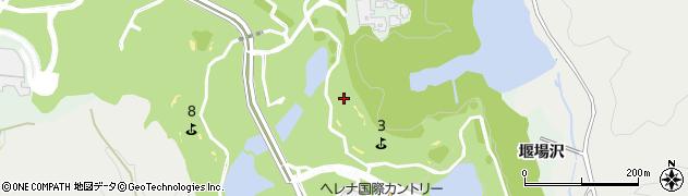 福島県いわき市渡辺町松小屋(堰場沢)周辺の地図