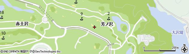 福島県いわき市渡辺町松小屋(芳ノ沢)周辺の地図