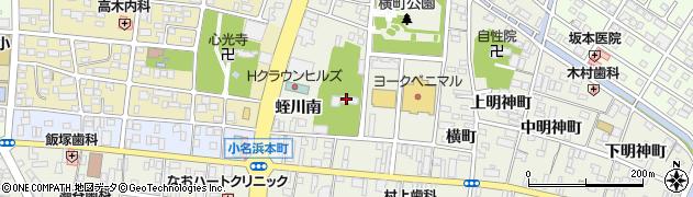 地福院周辺の地図
