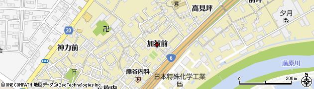 福島県いわき市泉町滝尻(加賀前)周辺の地図