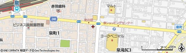 LibertyMuse いわき泉店周辺の地図