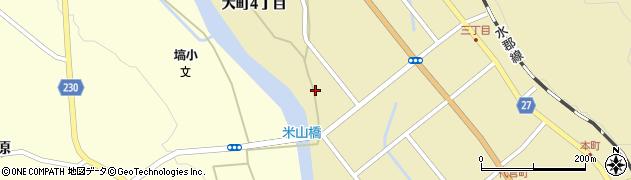 福島県東白川郡塙町塙大町5丁目周辺の地図