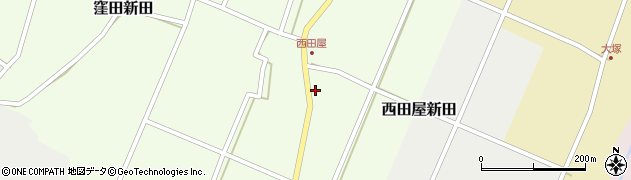 新潟県妙高市西田屋新田周辺の地図