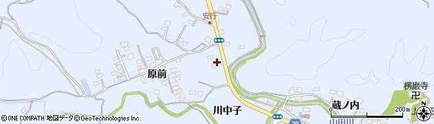 福島県いわき市山田町(下原前)周辺の地図