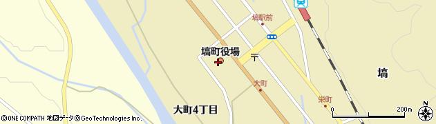 福島県東白川郡塙町周辺の地図