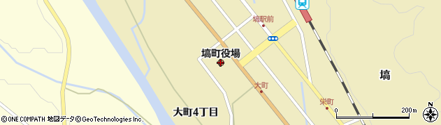 福島県塙町(東白川郡)周辺の地図