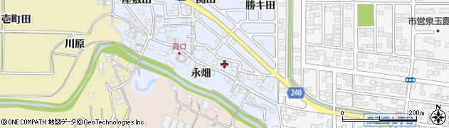 福島県いわき市渡辺町洞(田中島)周辺の地図