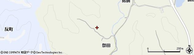 福島県いわき市永崎(祭田)周辺の地図
