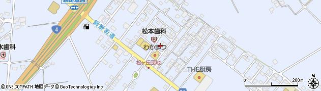 栃木県那須塩原市鍋掛周辺の地図