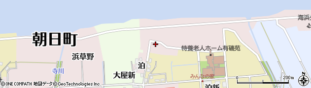 富山県朝日町(下新川郡)大屋周辺の地図