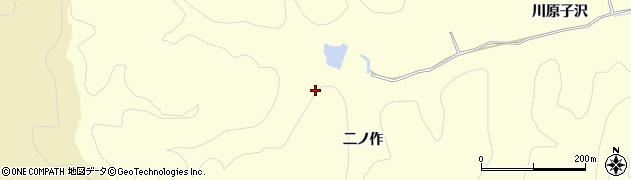 福島県いわき市渡辺町中釜戸(二ノ作)周辺の地図