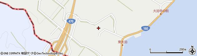 石川県七尾市大泊町(ト)周辺の地図
