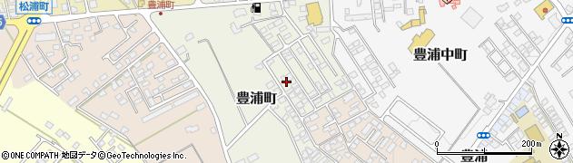 栃木県那須塩原市豊浦町周辺の地図