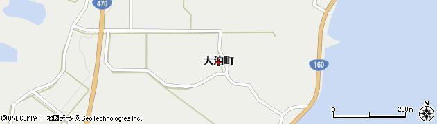 石川県七尾市大泊町周辺の地図