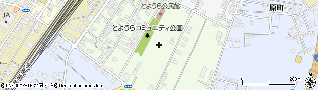 栃木県那須塩原市東豊浦周辺の地図