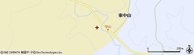 福島県いわき市遠野町滝(西中山)周辺の地図