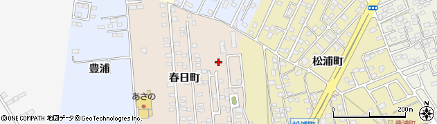 栃木県那須塩原市春日町周辺の地図