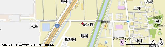 福島県いわき市小名浜大原(沼ノ作)周辺の地図