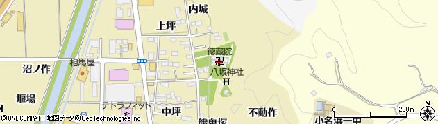 徳蔵院周辺の地図
