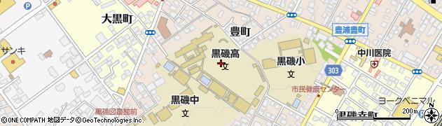 栃木県那須塩原市豊町周辺の地図