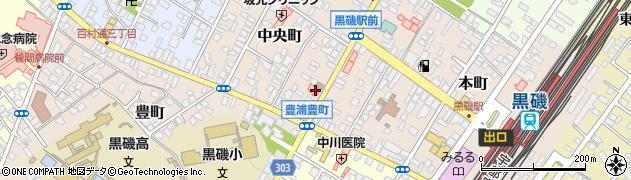 金澤医院周辺の地図