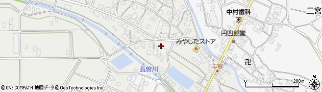 仏乗寺周辺の地図