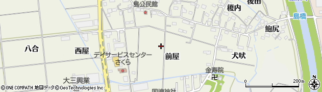 福島県いわき市小名浜島(前屋)周辺の地図