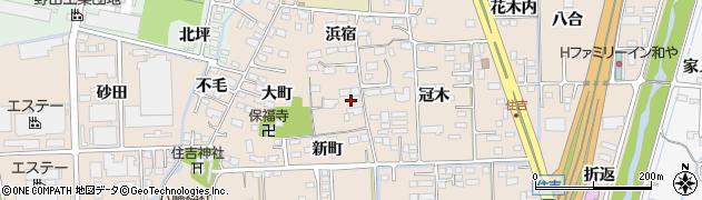 ゆうやけの家周辺の地図
