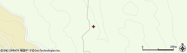 福島県いわき市田人町黒田周辺の地図