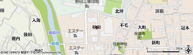 福島県いわき市小名浜住吉(砂田)周辺の地図