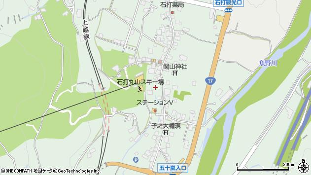 〒949-6372 新潟県南魚沼市石打の地図