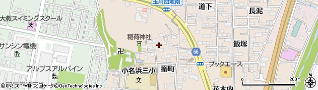 福島県いわき市小名浜住吉(搦町)周辺の地図